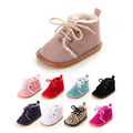 Winter Baby Warm Soft Boots Sole First Walker Cotton Shoes Girls Boys Moccasins First Walker Hand