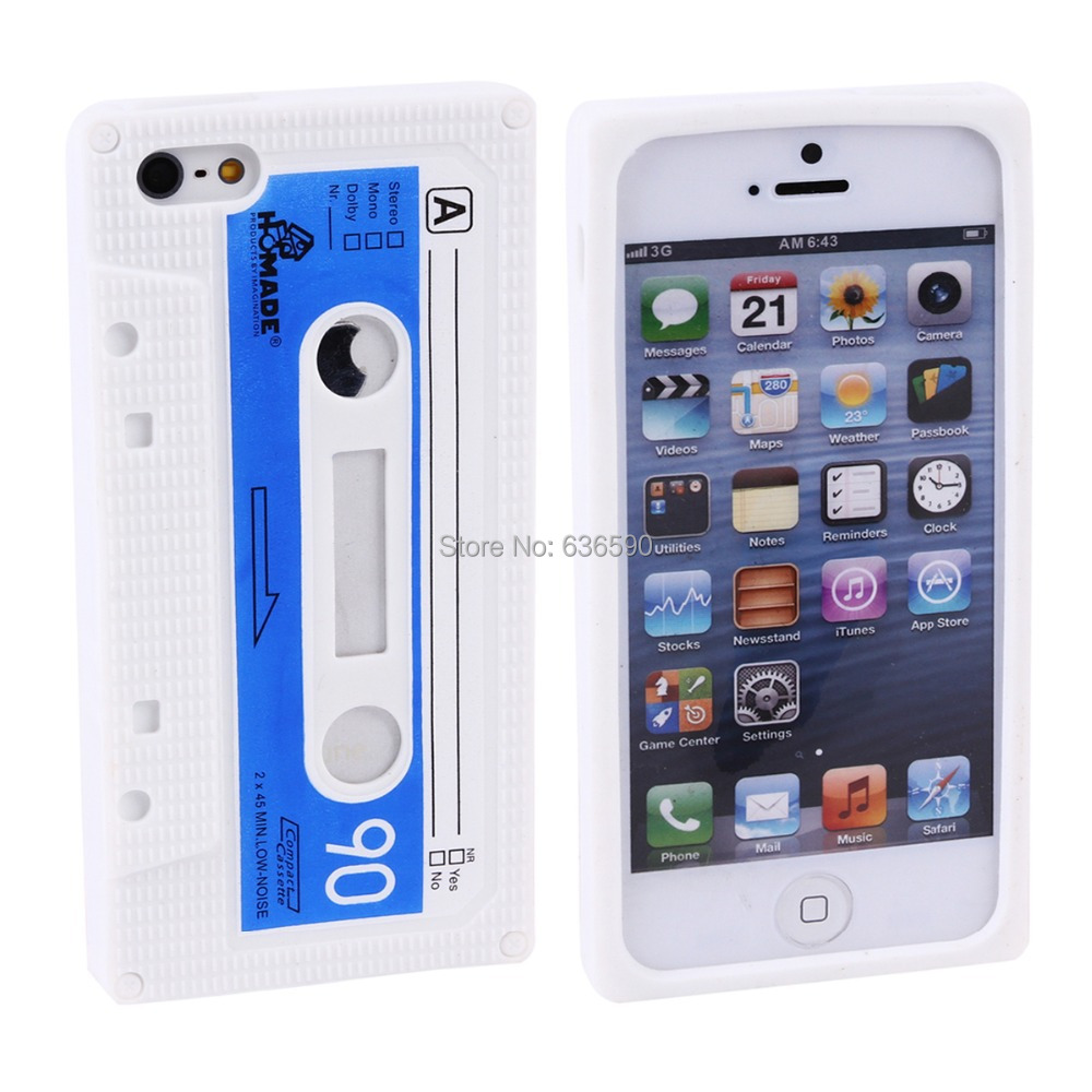 Mobile Phone Case iPhone 4 4S iPhone4 Fashionable Cool Cute Protective Silicone Silicon Soft Feel Cover Cases 11 Colors - Tony Brooks's store
