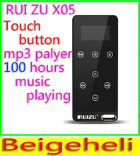 2015 New Arrive Ultrathin 8gb MP3 Player With 1.1 Inch Screen Touch button Can Play 100 hours,Original RUIZU X05 With FM,E-Book(China (Mainland))