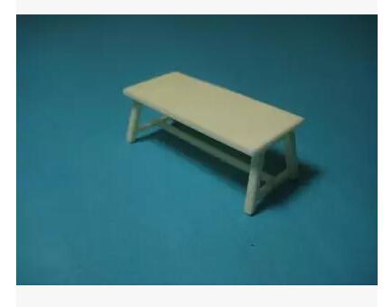 Scale Models 1/35 Scene scene model accessories desk 35035 Resin Model(China (Mainland))