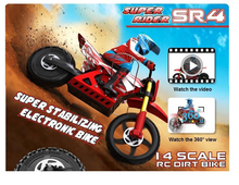 Free Shipping Brushless  Skyrc Super Rider SR4 1/4 Scale RC Bike Motorcycle  Brand New hot selling(Hong Kong)