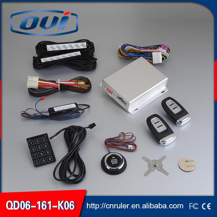 Push To Go PKE Engine Start Stop Button/Remote Start/Passive Keyless Entry Smart Key Car Alarm(China (Mainland))