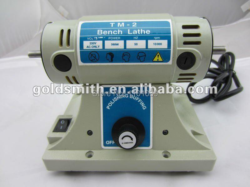 Cheap desk mini Foredom polishing motor Bench Lathe TM-2(China (Mainland))