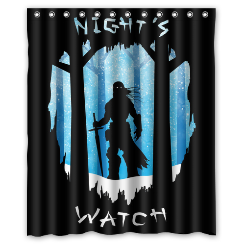 Cool Game Thrones Night 39 S Watch Customized Bath Unique