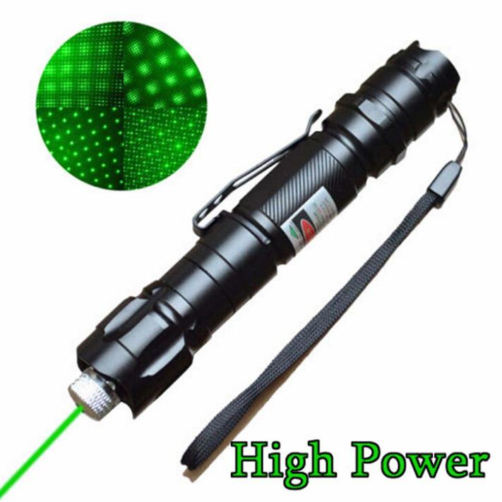 Brand New 1mw 532nm 8000M High Power Green Laser Pointer Light Pen Lazer Beam Military Green Lasers(China (Mainland))