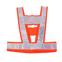 High Safety Security Visibility Reflective Work Vest Coat Gear Waistcoat Protect(China (Mainland))