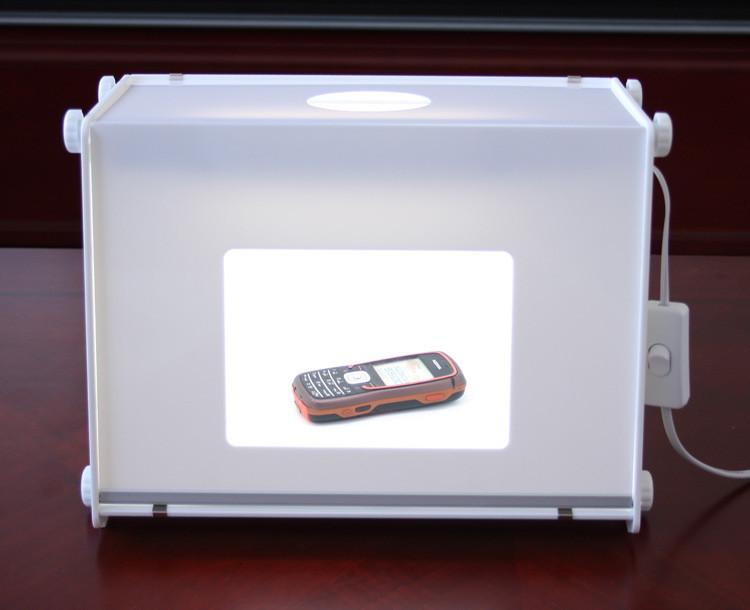 110V/220V SANOTO 12X8Portable Mini professional photo studio light soft box Photo Light Box MK30 softbox speedlight<br><br>Aliexpress