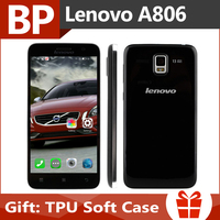 Original Lenovo A806 5 Inch HD IPS MTK6592 Octa Core Android 4.4 4G FDD LTE Mobile Cell Phone 2GB RAM 16GB ROM 13MP In Stock
