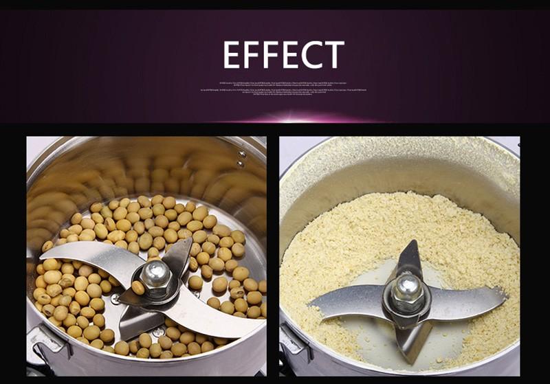 600g ,220V,Chinese medicine grinder stainless steel household electric flour mill powder machine, food grinder