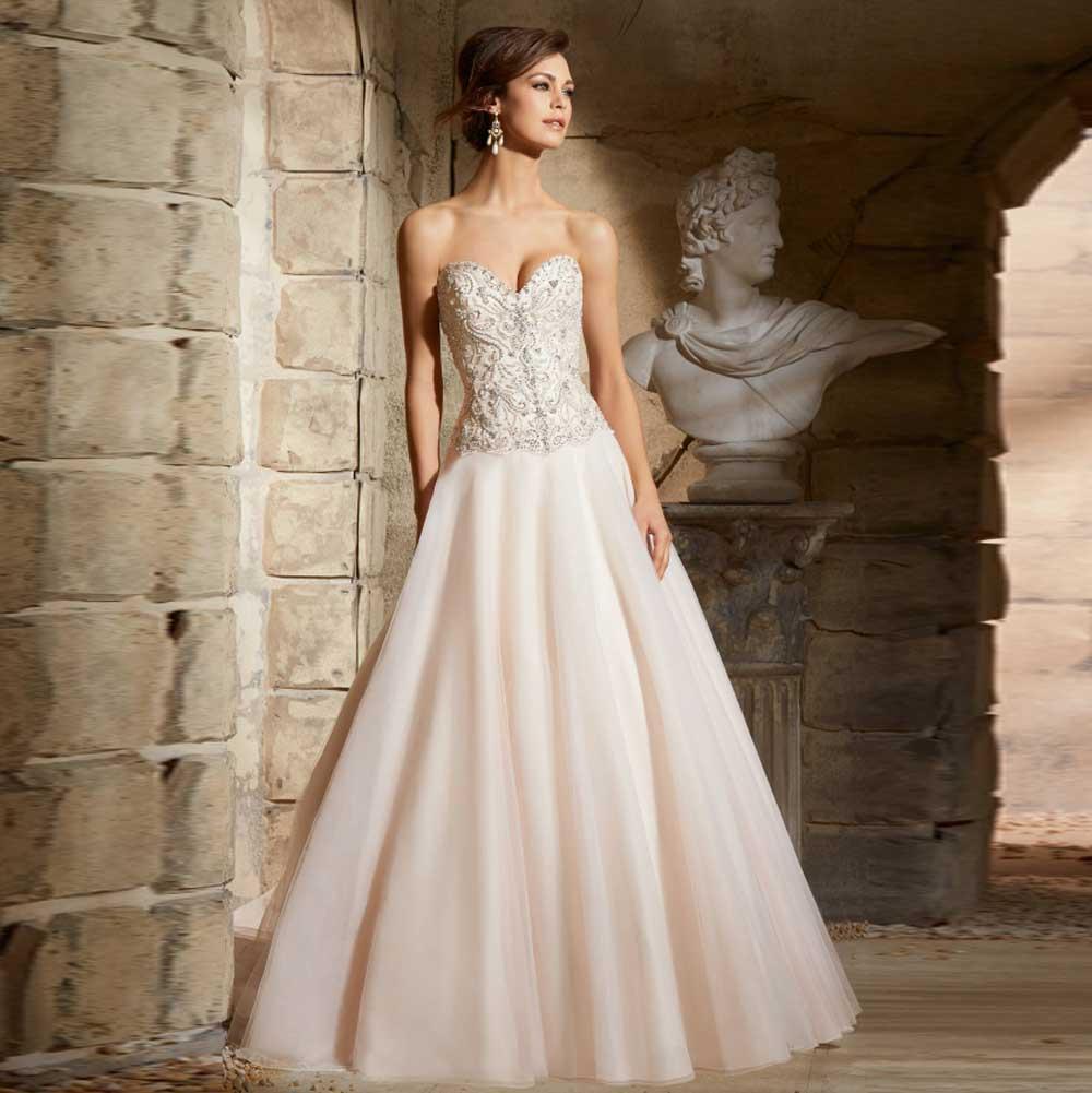 2016 dramatic organza sweetheart ball gown bridal wedding for Ball gown organza wedding dress