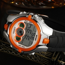 OHSEN Boys Kids Children Digital Sport Watch Alarm Date Chronograph 7 Colors LED Back Light Waterproof