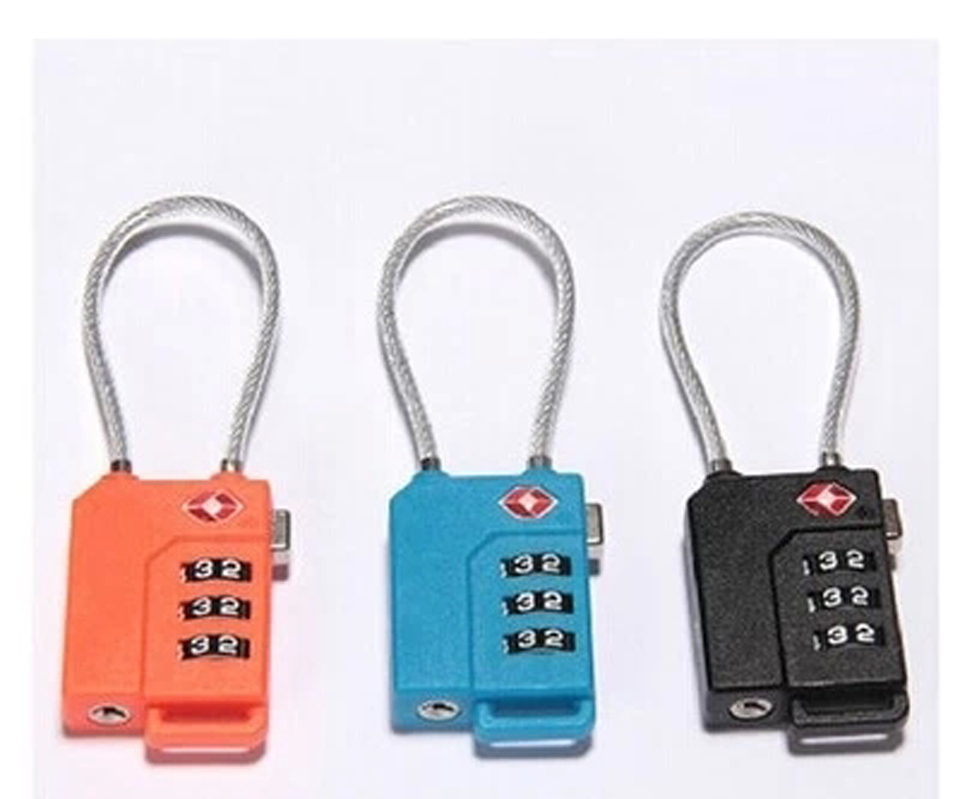 Safe Travel Suitcase Combination Lock Travel 3 Digit Cose Luggage Boxes Padlock Outdoor Tools