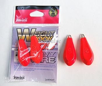 Wholesale - Fishing line sinker lead head pendant fishing tackle soft bait leader jig head 32g/3.5cm
