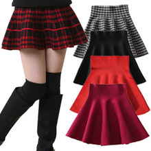 2015 spring and summer girls wool skirts high waist skirt tutu skirt for children ( supported by a generation of fat )