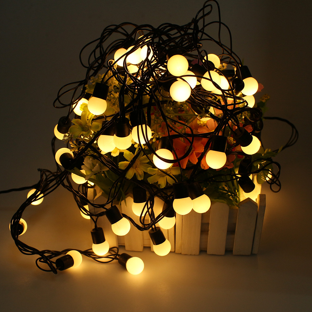 Compare Prices on 10 Bulb Christmas Lights- Online Shopping/Buy ...:10M 72 LED Globe Ball Fairy String Lights Christmas Lights for  Indoor,Garden, Home,Lighting