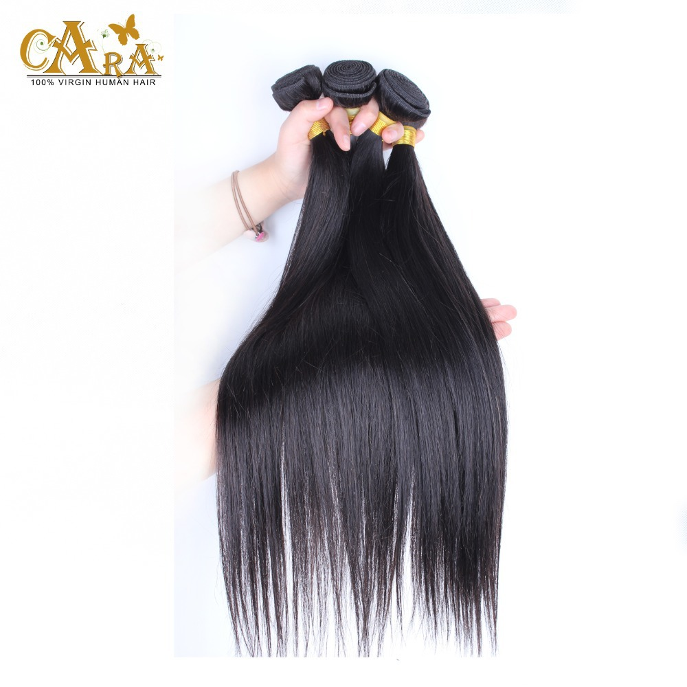 6A Unprocessed Virgin Hair Indian Virgin Hair Straight Remy Human Hair Bundles 3pcs Free Shipping 100% Human Hair Extension