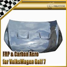 Car Styling Volkswagen VW Golf 7 GTI/TSI R Type Carbon Fiber Hood - EPR International Auto Parts store