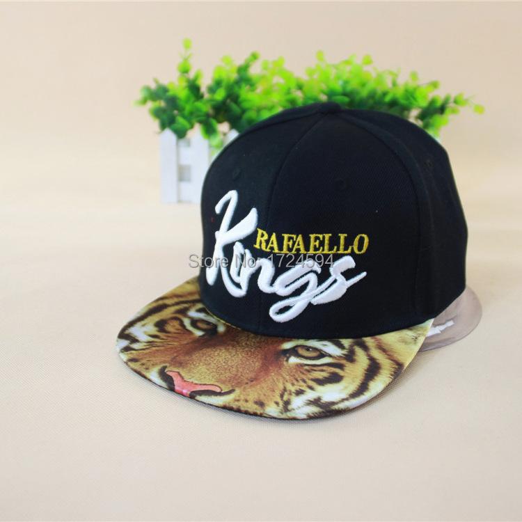 2015 Hip Hop Fashion Product Printing Tiger Hat Baseball Cap for Men and Women Acrylic Novelty Gorras Snapback(China (Mainland))