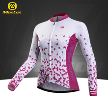 Buy 2017 Monton Women's Long Sleeve Cycling Jerseys Tops Bike Bicycle Jerseys T-shirt for $35.99 in AliExpress store