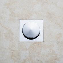 e-pak Cheaper 5666 Construction & Real Estate Chrome Brass Grate Floor Register Waste Drain 4″ x 4″ Flower Art Floor Drain