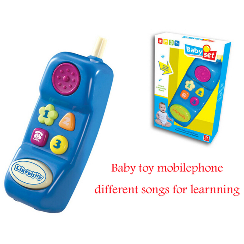 Educational Baby font b Mobile b font font b Phone b font With Many Songs Electronic