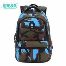 Buy Primary students backpack school bags camo kids school satchel teen boys girls school backpack book bag shoulder bag X026 for $20.39 in AliExpress store
