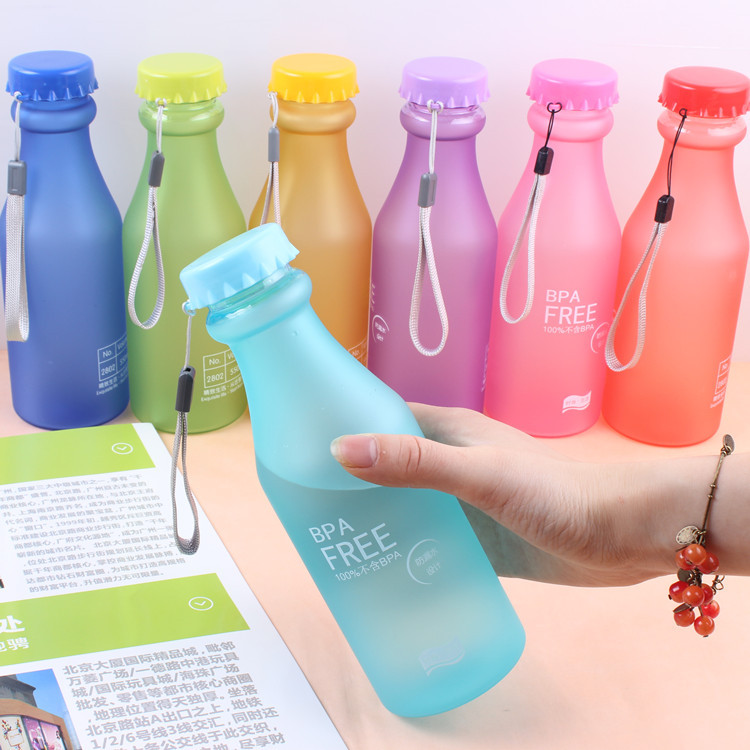 2015 Protein Shaker Rushed Sport For Water Bottles Frosted Plastic Portable Unbreakable Bottle Sealing Cup Quality Models Sealed(China (Mainland))