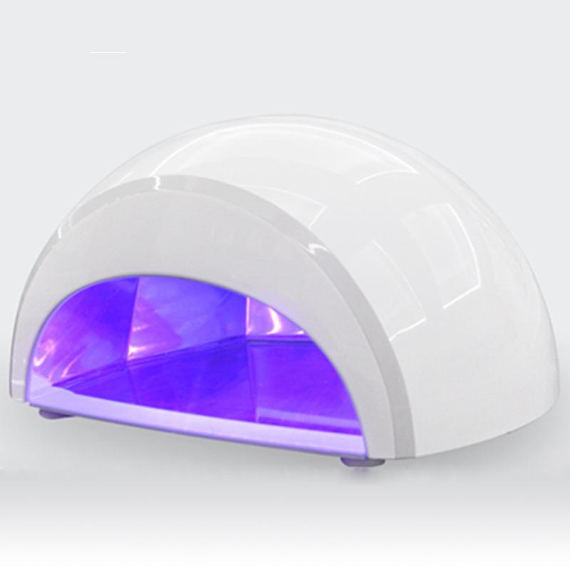 New Arrival Professional 100-240V 12W LED UV Gel Lamp Light Nail Dryer Nail Art EU Plug(China (Mainland))
