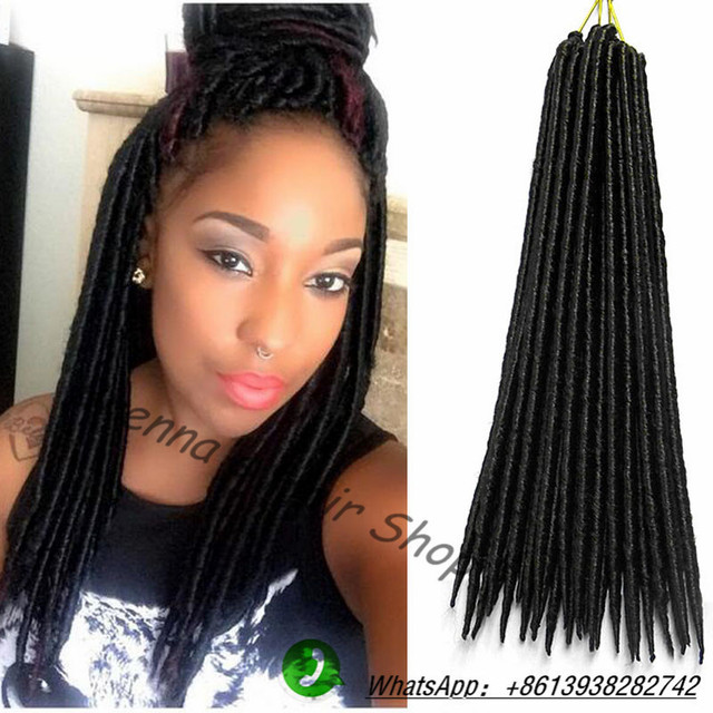 Soft Dread Crochet Hair Styles : Soft Dread Hair Crochet Braids