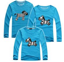 1 Pc Hot Selling Quality Cotton Shirt Tops Family Set T Shirt Matching Family Clothing 2016 Men Women Kid Large Long T-shirts