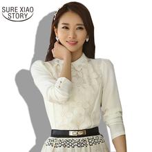 Buy 2017 New Spring Summer Blouses & Shirts Women Clothing Tops,Chiffon Blouse Blusas Femininas Ladies Blouses White Women 9824 for $11.74 in AliExpress store