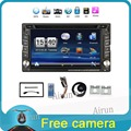 2016 New 6 2 Touch Screen car dvd player gps navigation USB SD Bluetooth FM 2din