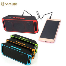 K812 V2.1 Speaker SAMSBO S160 Multifunctional Wireless Bluetooth Speaker Music FM Player with Super Bass Stereo Sound PK SC208(China (Mainland))