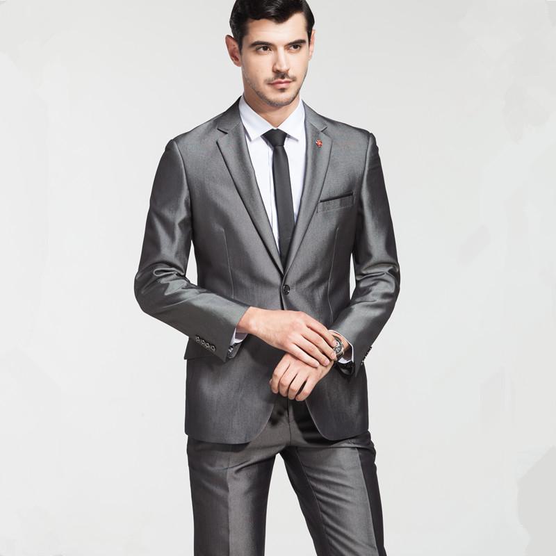 New winter wear suit suit cut standard Korean Slim business suits Men's Wedding suits C37