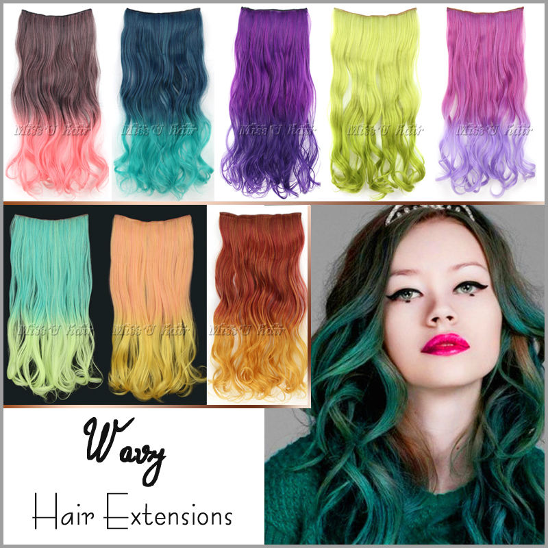 Rainbow Ombre Hair Extensions | www.imgkid.com - The Image ...