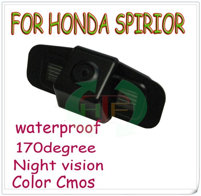 car rear camera car monitor parking system backup viewer reversing monitor rear sensor for Honda spirior night vision(China (Mainland))