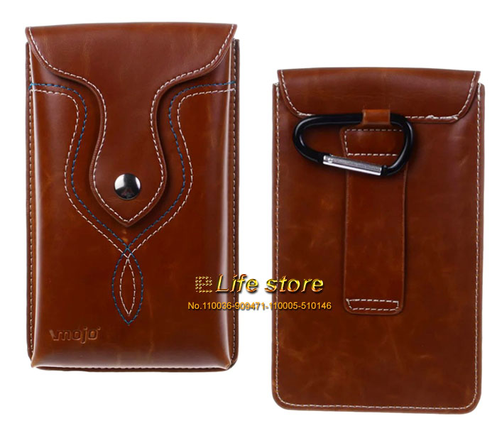 Luxury Man Belt Clip Phone Case Leather Pouch ZTE Nubia Prague S,ZTE Blade V7 Lite,ZTE  -  eForMobile Tina  store