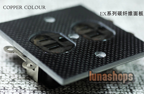 Copper Colour CC EX160-COPPER Power Socket 15A 110-230V For Home Theater<br><br>Aliexpress
