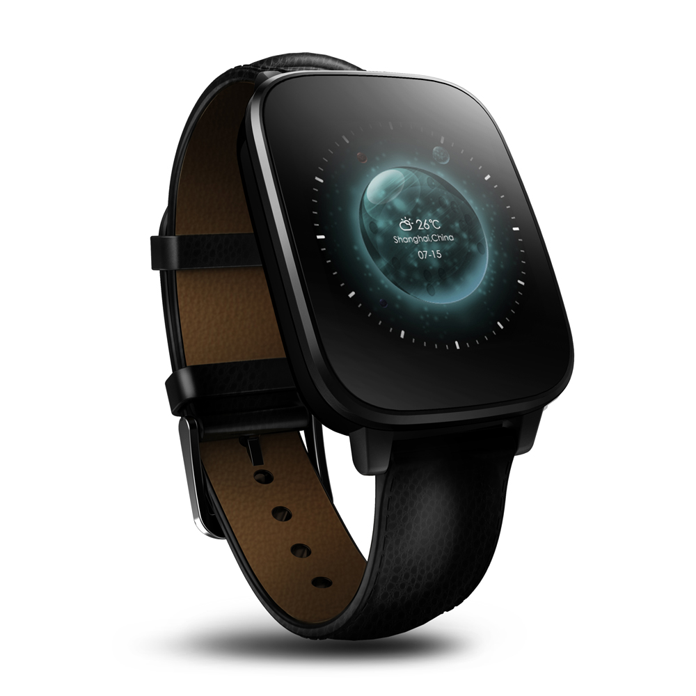 """Zeblaze Crystal S10 1.54"""" LCD Touch Screen Bluetooth 4.0 Smart Watch Heart Rate Monitor Stopwatch for Android IOS Cell Phone(China (Mainland))"""