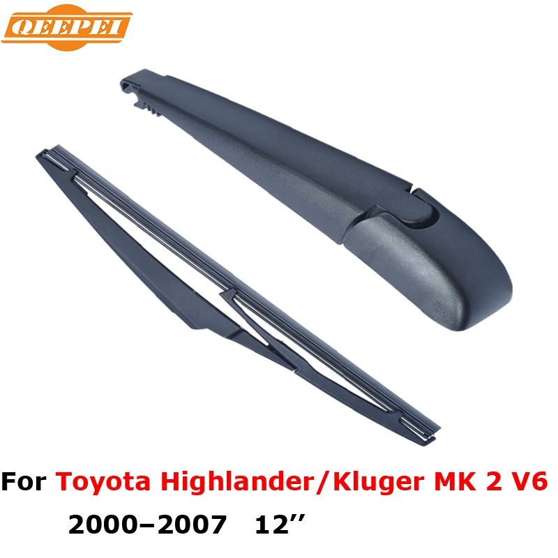 "QEEPEI car auto parts windshield wiper blade rear wiper arm and blade 12"" for Toyota Highlander/Kluger MK 2 V6(China (Mainland))"