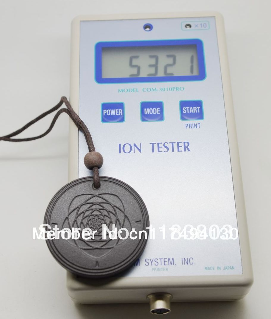 free shipping flower of life Quantum Scalar Energy Pendant 5000 ~ 6000 ions with Test Video with Card for each pendant(China (Mainland))