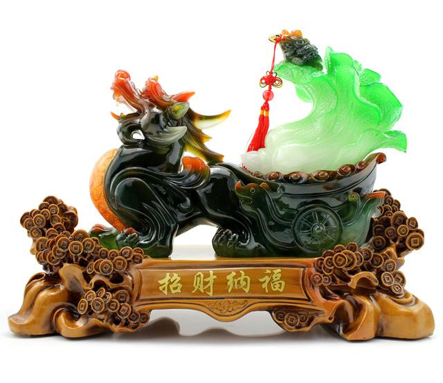 Apotropaic home pi xiu decoration gift lucky pi xiu cabbage toad mascot decoration