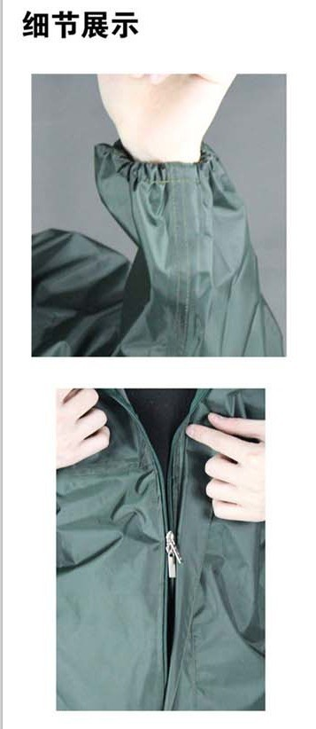 Fashion motorcycle raincoat Conjoined raincoatoveralls men and women fission rain suit0