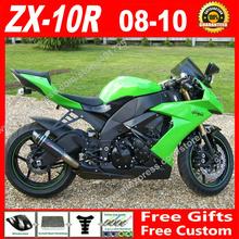 Buy Free custom Fairings fit for Kawasaki Ninja ZX-10R 08 09 10 light green OEM ZX 2008 2009 2010 10R ZX10R fairing kits 7 gift FU02 for $355.32 in AliExpress store