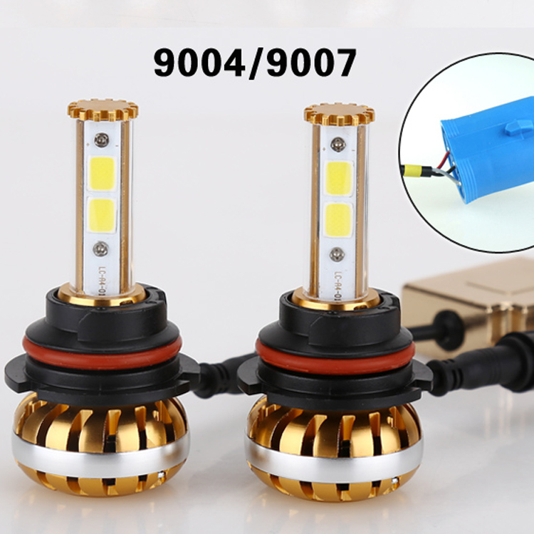 2016 60W 7800LM 9006 HB4 COB LED Headlight Conversion Kit Driving Lamp Bulb Car Light Source 3000K 6000K Free Shipping<br><br>Aliexpress
