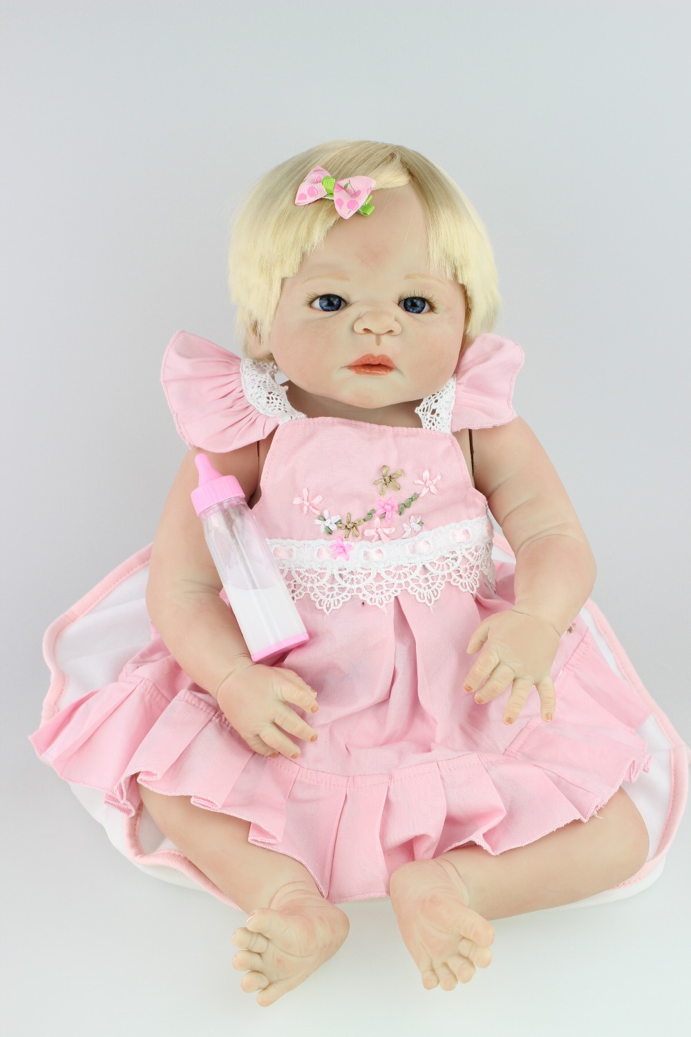 free shipping hotsale reborn baby doll  girl victoria by SHEILA MICHAEL so truly real collection finished doll as picture<br><br>Aliexpress