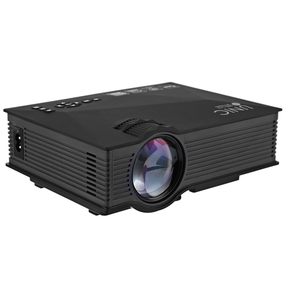 Unic uc46 projector portable red blue 3d effect simplified for Micro portable projector