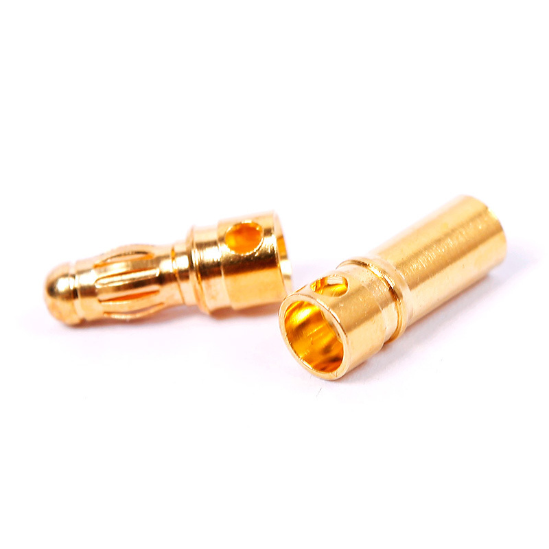 10 Pairs 3 5mm Gold Bullet Plug Lipo Battery Brushless Motor Connector 63141