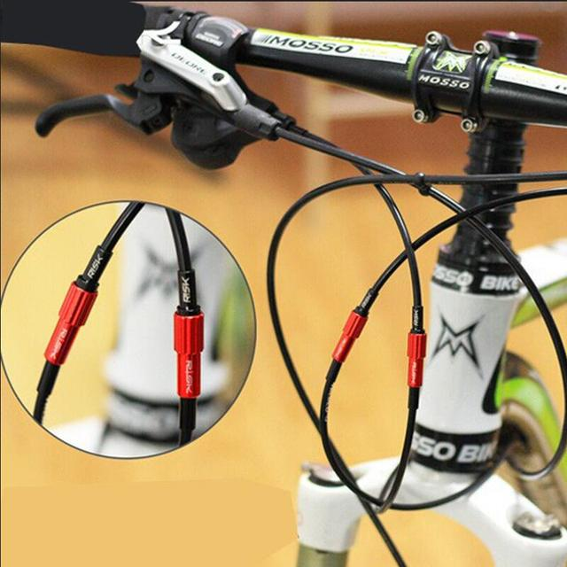 2PCS MTB Road Bike Shifting Middle Fine Adjustment Screw Bicycle Derailleur regulator screw for 4mm/4.5mm Shifting cable cap
