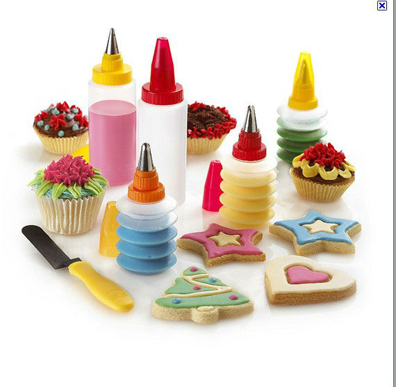 com buy 11pc cookie cupcake cake or pastry decorating kit set